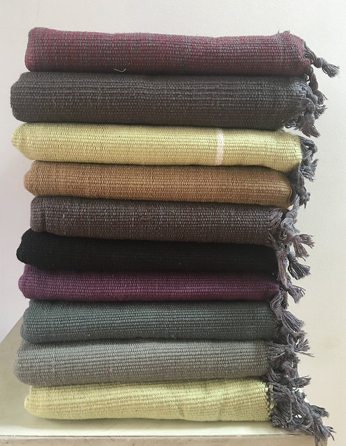 Woven Cotton Mats (Wide & Long) (LOT#3)