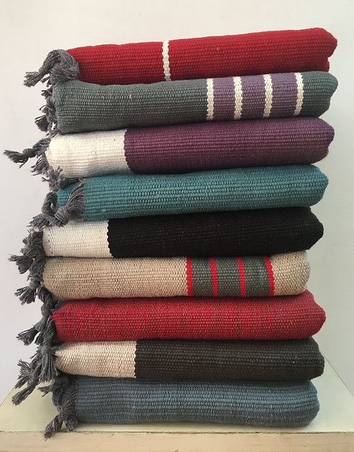 Woven Cotton Mats (Wide & Long) (LOT#2)