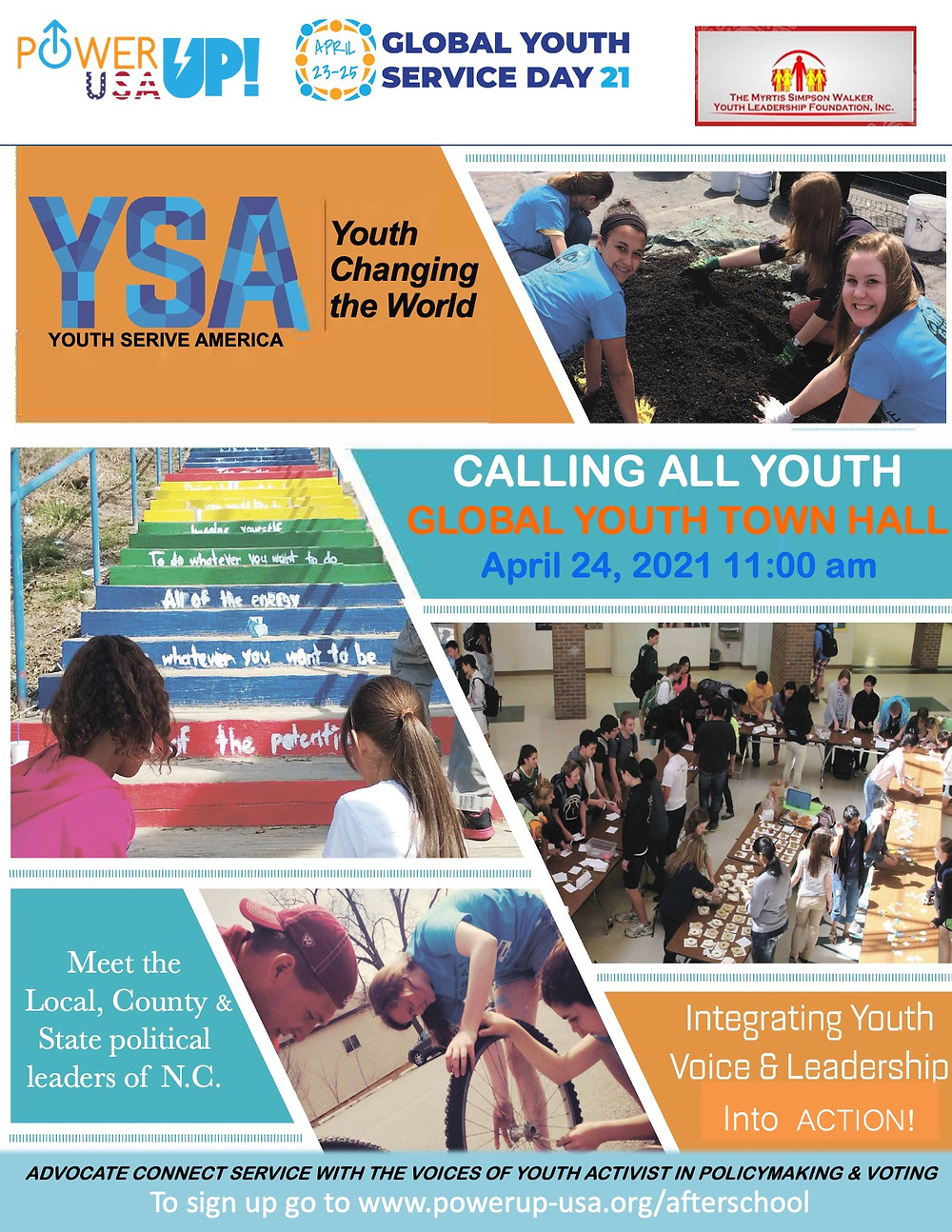 Global Youth Service Day 2021