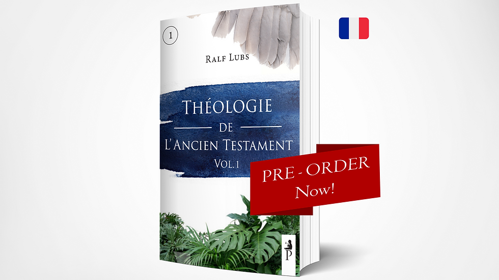 Théologie de l'Ancien Testament - PPSTS 1 (Vol. 1)