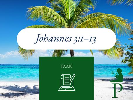 Taak: Johannes 3:1–13