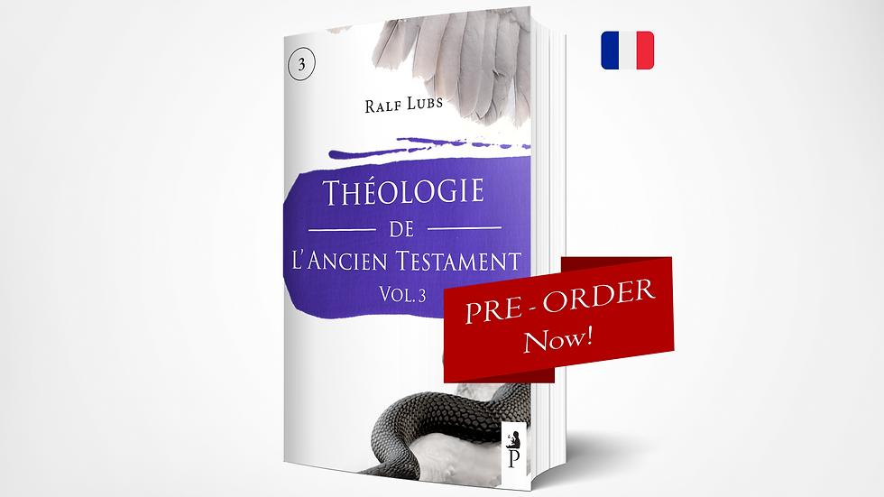 Théologie de l'Ancien Testament  - PPSTS 1 (Vol. 3)