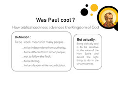 Was Paul cool ?