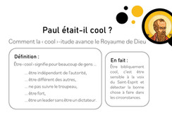Paul, était-il cool?