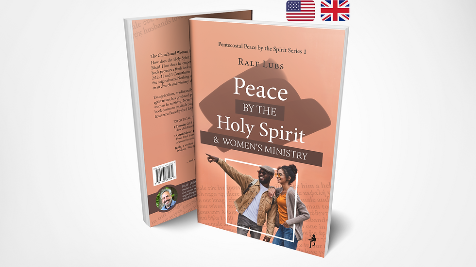 Peace by the Holy Spirit and Women's Ministry (PPSS 1)