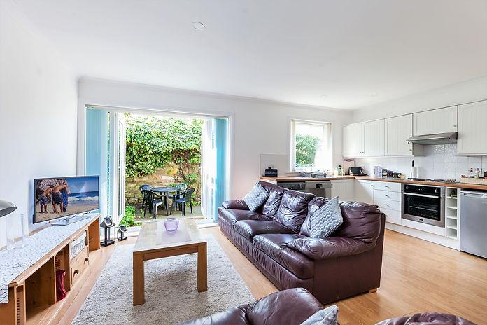 Garden Flat Living Space