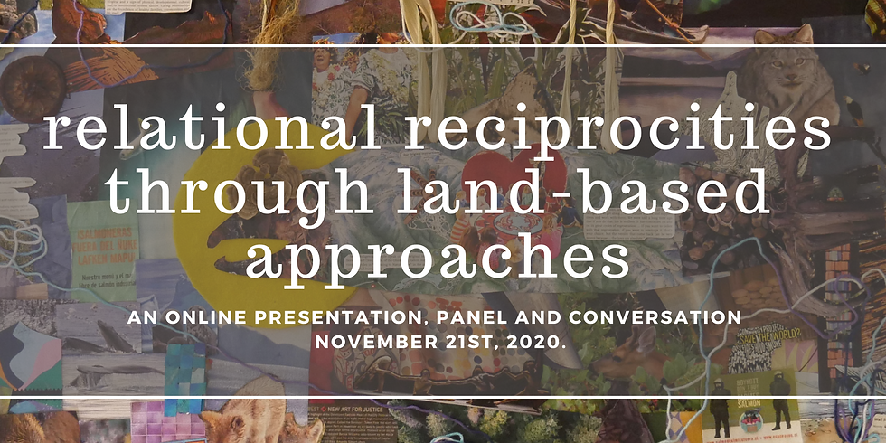relational reciprocities through land-based approaches