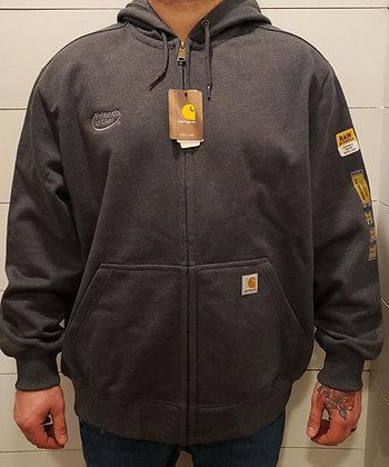 Carhartt Rain Defender Heavyweight Hooded Zip Front Sweatshirt- CT100614