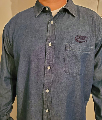 Men's Untucked Denim Shirt- MBG8207