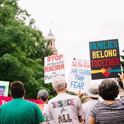 Families Belong Together Rally - Knoxville, TN