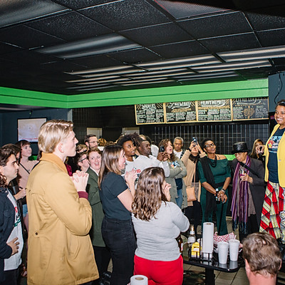 CCM General Election Watch Party