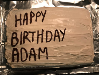 Celebrating ADam's Day Of Birth