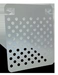 Grille métal petit modèle pour rouleau 180 mm