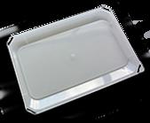 Couvercle transparent pour seau à peinture de 14L