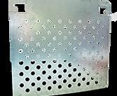 Grille Peinture Métal Grand Modèle pour rouleaux