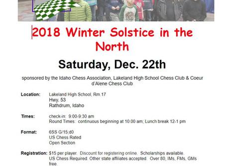 2018 ICA/LHSCC/CDACC Winter Solstice in the North Tournament