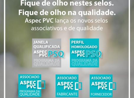 ASPEC PVC LANÇA NOVOS SELOS ASSOCIATIVOS E DE QUALIDADE