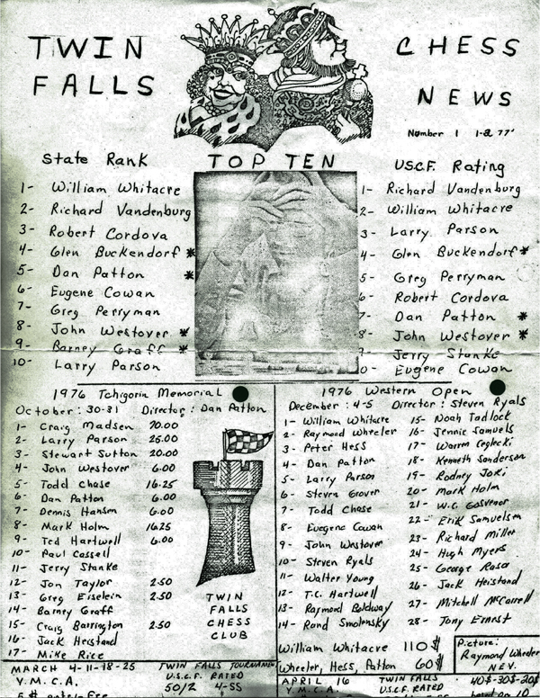 Twin Falls News 1-2-1977