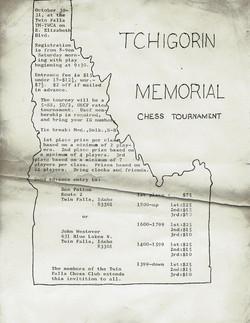 1976 Tchigorin Memorial