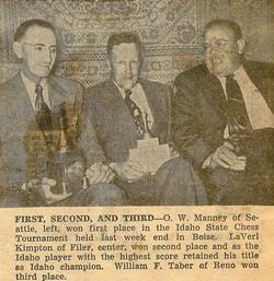 1953 Idaho Open Photo Large
