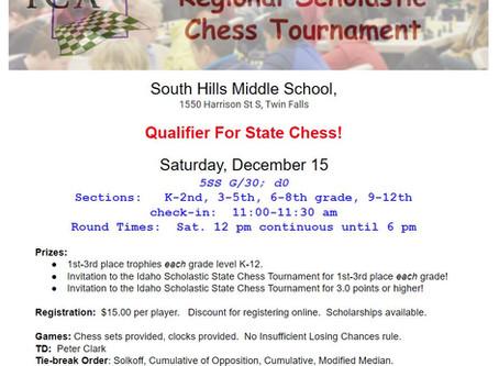 First Regional Qualifier Announced