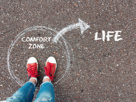ARE YOU WILLING TO SHAKE YOUR COMFORT ZONE?
