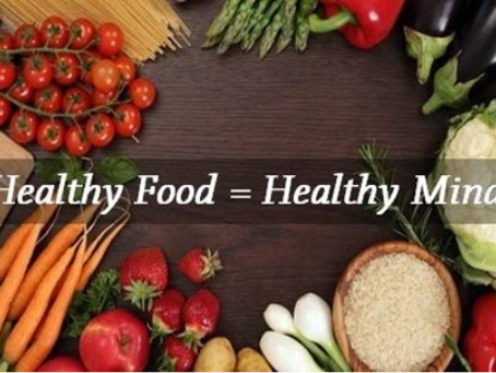 HEALTHY EATING FOR A HEALTHY MIND