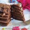 Pancakes tout chocolat coeur fondant