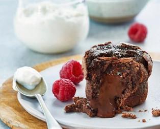Coeur coulant au chocolat avec le CAKE FACTORY de Téfal