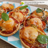 JEU CONCOURS LESIEUR & Mini pizzas épicées aux crevettes sauce cocktail Lesieur