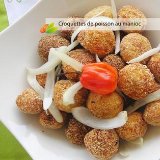 Croquettes de poisson au curry et manioc