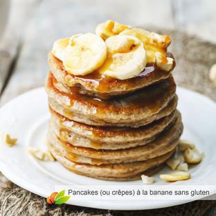 Pancakes (ou crêpes) à la banane sans gluten