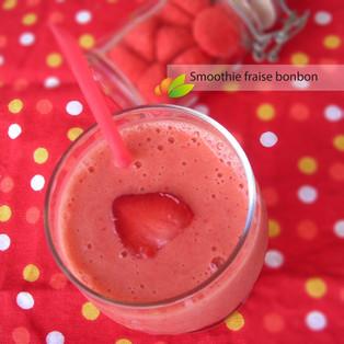 Smoothie fraise bonbon