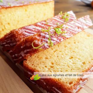 Gâteau léger au lait de coco et agrumes avec le CAKE FACTORY de Téfal