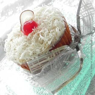 Mont-Blanc Martiniquais façon cupcake