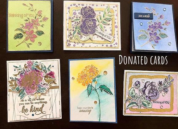 Custom Handmade Cards of Hope