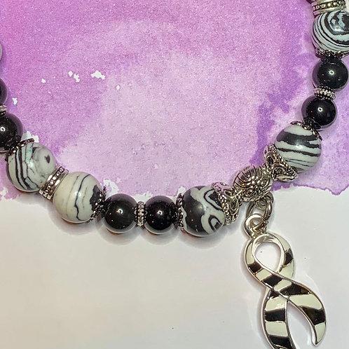 Zebra Awareness Bracelets for RARE Diseases