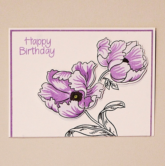 layered purple flower