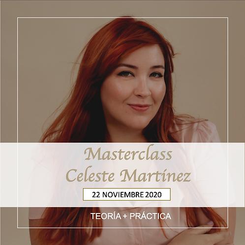 Masterclass Celeste Martinez. Teoría + Práctica