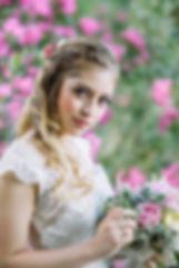 Inspiracion e ideas para novias con semirecogidos de Marta Gamarra Beauty