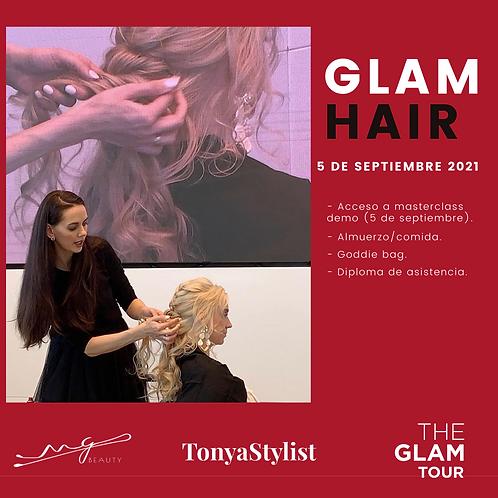GLAM HAIR. 5 SEPTIEMBRE 2021