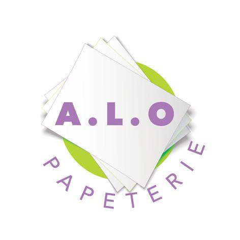 A.L.O Papeterie Logo Concept