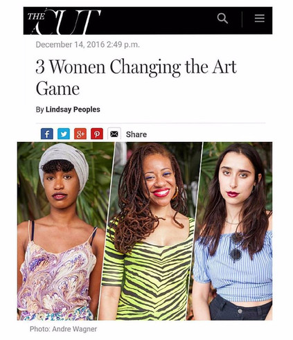 3 Women Changing the Art Game, by Lindsey Peoples