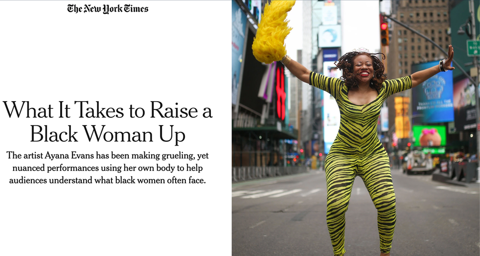 Article by Seph Rodney for the New York Times