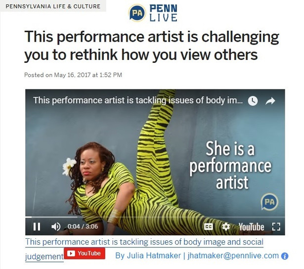 Video Covering Evans's Performance at the Barnes Foundation, 2017 Click to View Video