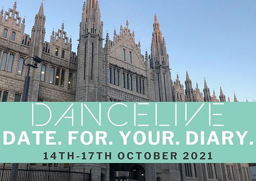 DanceLive 21 - Save The Date Postcard.pn