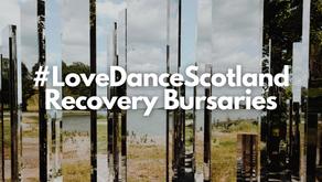 Applications Open for #LoveDanceScotland Recovery Bursaries