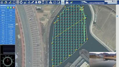 저수지 용적량 측량 무인수상정(USV)-지상관제 프로그램
