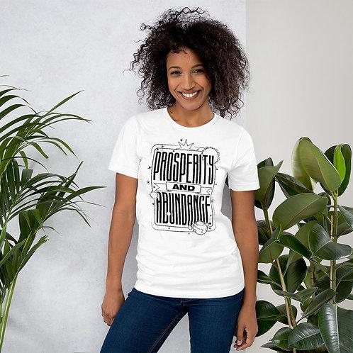 Prosperity & Abundance Short-Sleeve Unisex T-Shirt