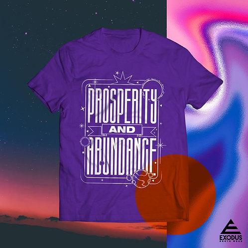 Prosperity & Abundance Purple Tee